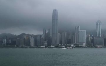 Rain on HKG